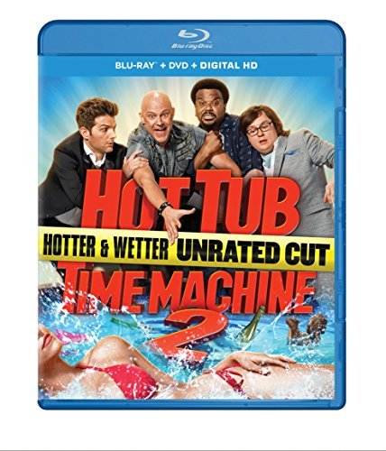 Hot Tub Time Machine 2 Corddry Robinson Duke Scott Blu Ray DVD Dc R