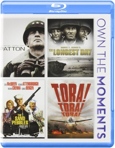 Patton Longest Day Sand Pebble Patton Longest Day Sand Pebble Blu Ray Ws Nr