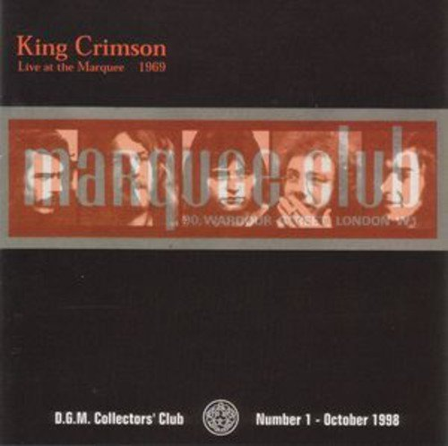 King Crimson Live At The Marquee 1969