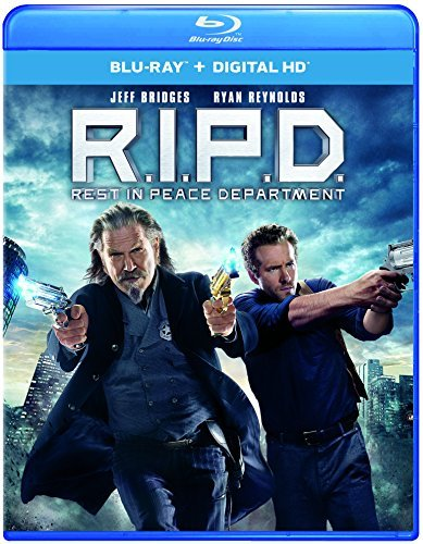 R.I.P.D. Bridges Reynolds Blu Ray Dc Pg13