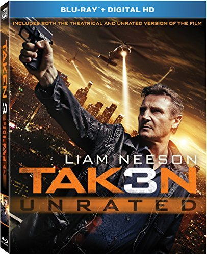 Taken 3 Neeson Whitaker Grace Blu Ray Dc Pg13