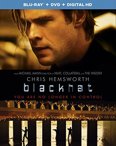 Blackhat Hemsworth Davis Blu Ray DVD Dc R