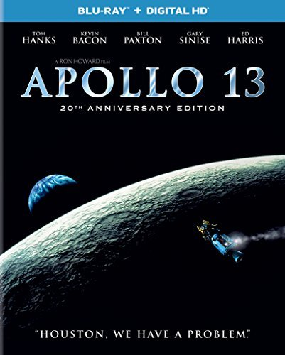 Apollo 13 Hanks Bacon Paxton Sinise Blu Ray Dc 20th Anniversay Edition