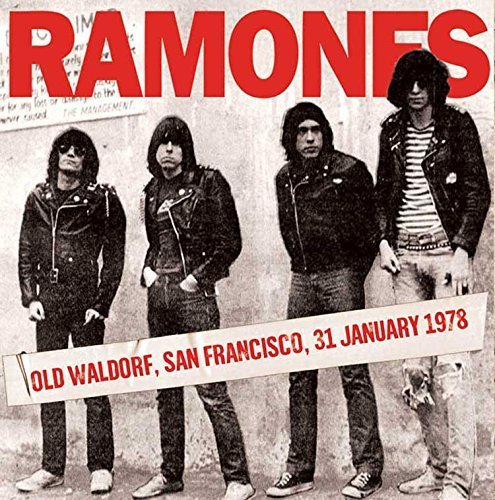 The Ramones Old Waldorf San Francisco 1 31 78