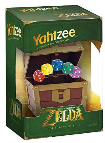 "Usaopoly Yahtzee"" The Legend Of Zelda Collector's Edition"