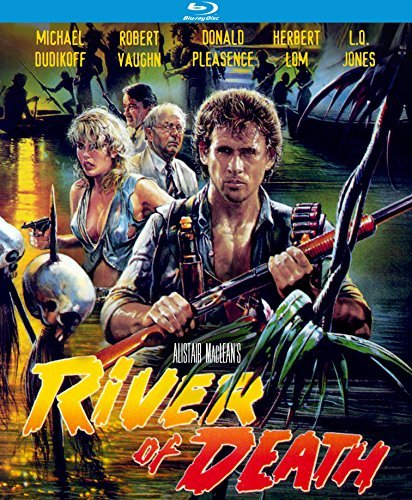 River Of Death Dudikoff Vaughn Pleasance Lom Blu Ray R