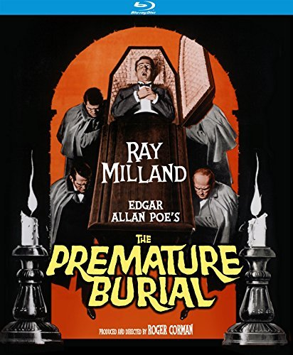 Premature Burial (1962) Milland Court Blu Ray Nr