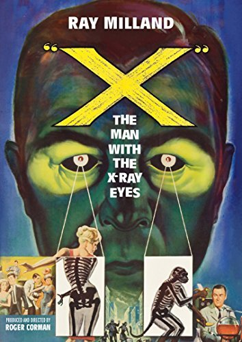 X The Man With The X Ray Eyes Milland Van Der Vlis DVD Nr