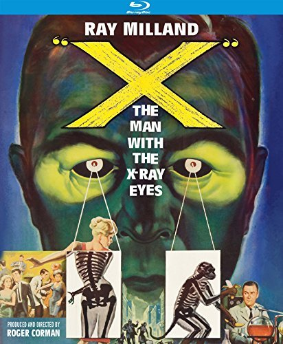 X The Man With The X Ray Eyes Milland Van Der Vlis Blu Ray Nr