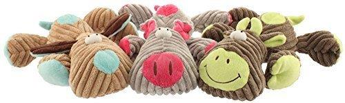 Tuff Squeaks Farm Critter Dog Toy (3) Tuff Squeaks Farm Critter Dog Toy Assorted Tuff Squeaks Farm Critter Dog Toy