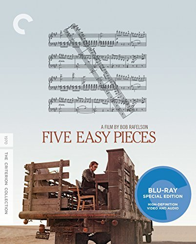 Five Easy Pieces Nicholson Black Blu Ray R Criterion Collection