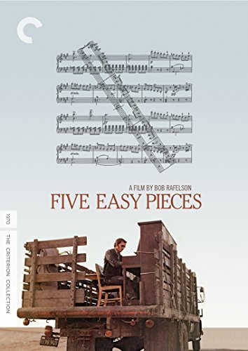 Five Easy Pieces Nicholson Black DVD R Criterion Collection