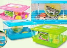 Carry N Cage Carrier For Small Animals Multicolored