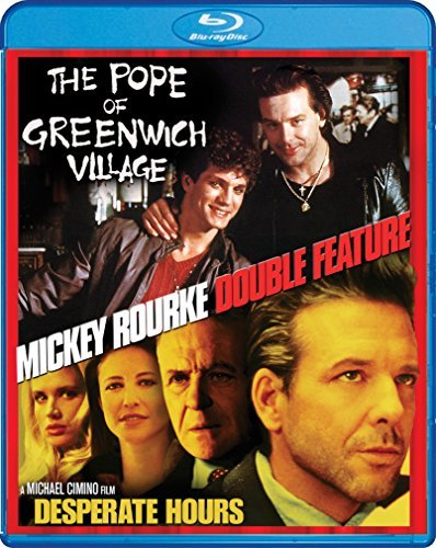 Pope Of Greenwich Village Desperate Hours Mickey Rourke Double Feature Blu Ray R