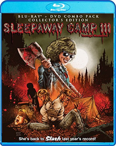 Sleepaway Camp Iii Teenage Wasteland Springsteen Pamela Blu Ray DVD R