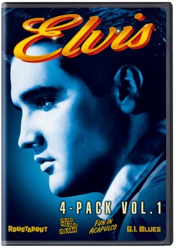 Vol. 1 Four Movie Collection Presley Elvis Pg 4 DVD