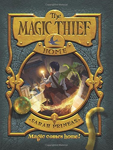 Sarah Prineas The Magic Thief Home