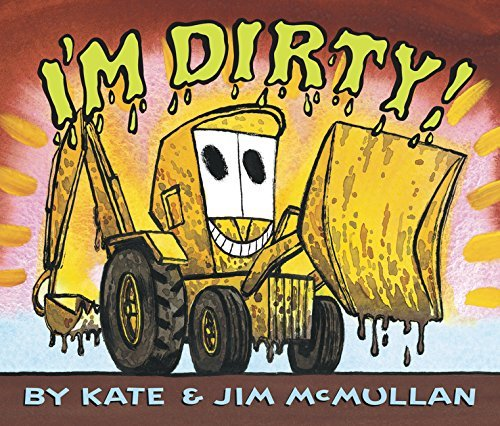 Kate Mcmullan I'm Dirty! Board Book