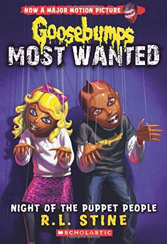 R. L. Stine Night Of The Puppet People (goosebumps Most Wanted