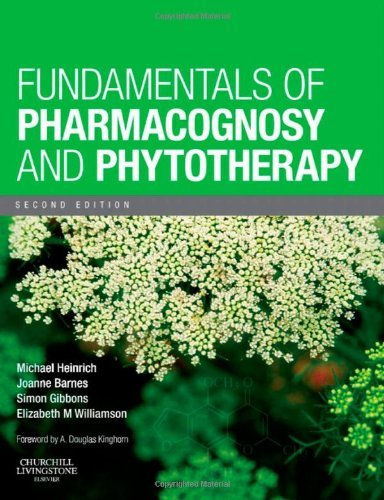 Michael Heinrich Fundamentals Of Pharmacognosy And Phytotherapy 0002 Edition;
