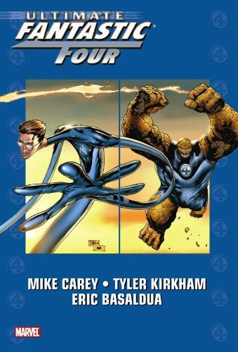 Mike Carey Ultimate Fantastic Four Volume 6