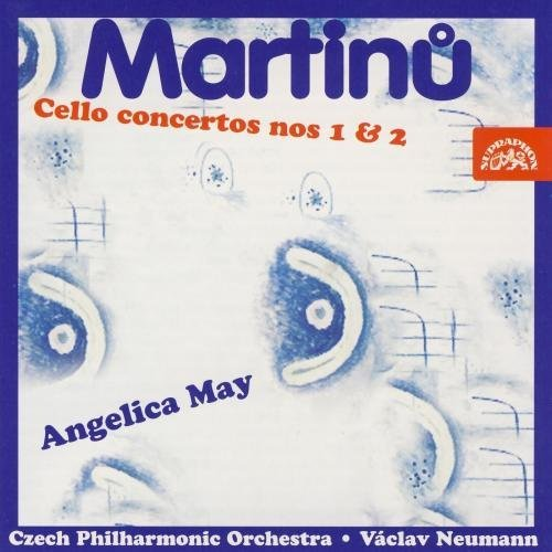 May Neumann Czech Po Martinu Concerto Nos.1 & 2