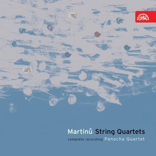 B. Martinu String Quartets (complete) Panocha Quartet 3 CD