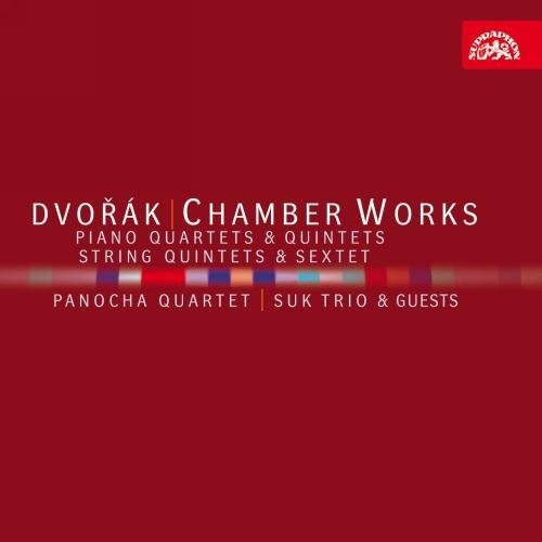 Antonin Dvorák Chamber Works 4 CD Panocha Quartet