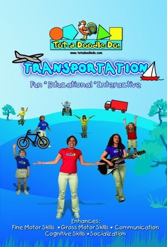 Tot A Doodle Do Transportation Nr