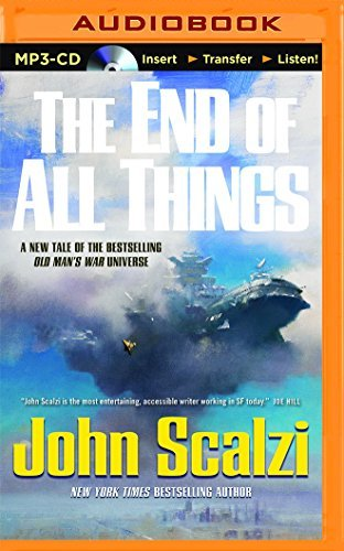 John Scalzi The End Of All Things Mp3 CD