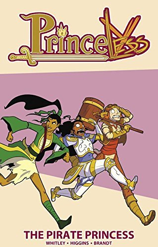 Jeremy Whitley Princeless Volume 3 The Pirate Princess