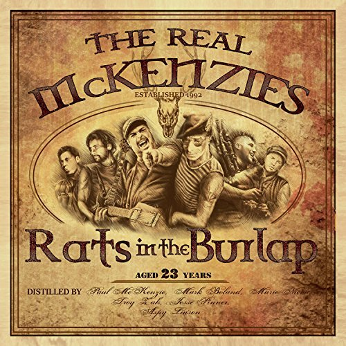 Real Mckenzies Rats In The Burlap