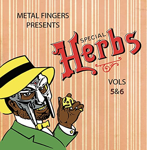 Mf Doom Special Herbs 5 & 6 2 Lp Incl. 7 Inch
