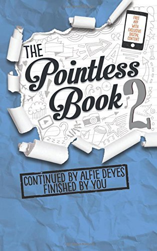Alfie Deyes Pointless Book 2 Continued By Alfie Deyes Finished By You