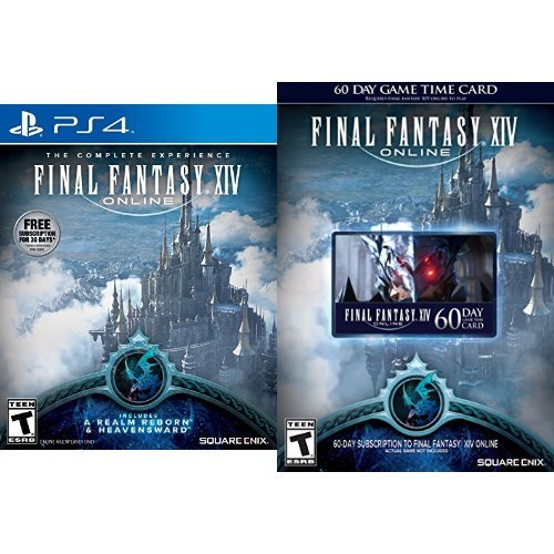 Ps4 Final Fantasy Xiv Online (includes A Realm Reborn & Heavensward) ***online Only***