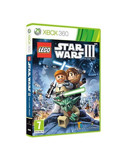 Xbox 360 Lego Star Wars 3 The Clone War Disney Interactive Distri E