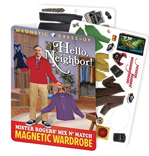 Gift Mister Rogers Magnetic Dress Up