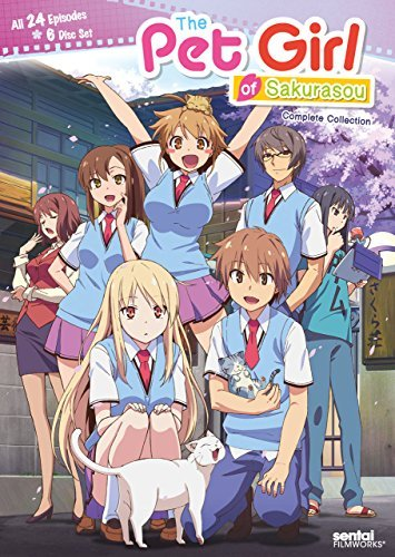 Pet Girl Of Sakurasou Complete Collection DVD