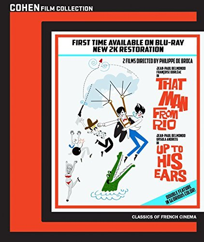 That Man From Rio Up To His Ears Double Feature Blu Ray Nr