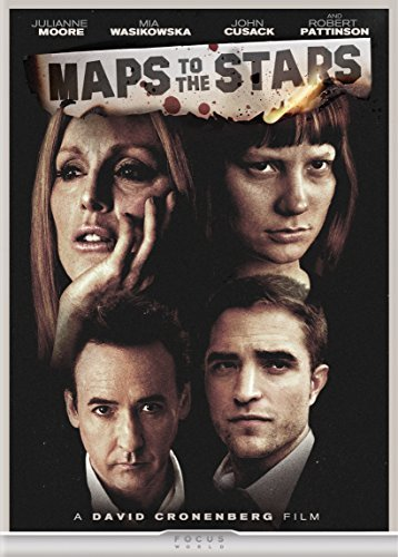 Maps To The Stars Moore Wasikowska Pattinson Cusack DVD