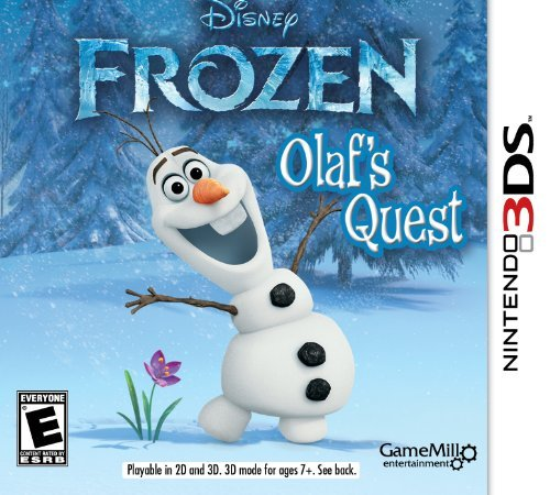 Nintendo 3ds Disney Frozen Cokem International Ltd. E