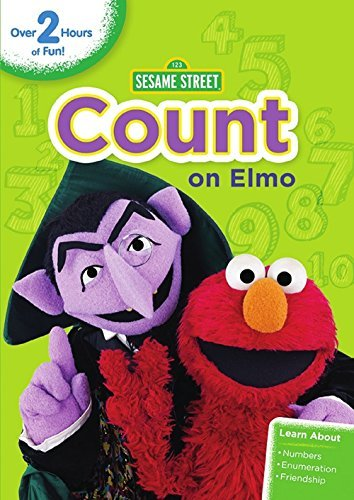 Sesame Street Count On Elmo DVD