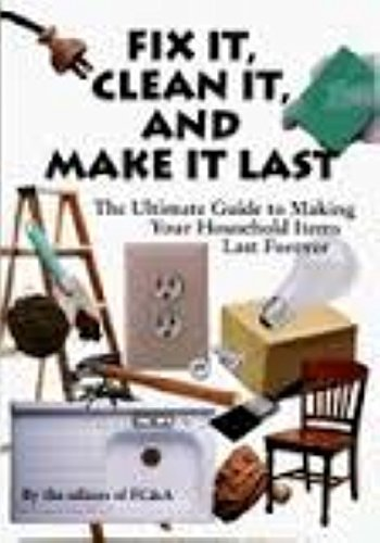 Staff Of Fc&a Publishing (author) Fix It Clean It And Make It Last