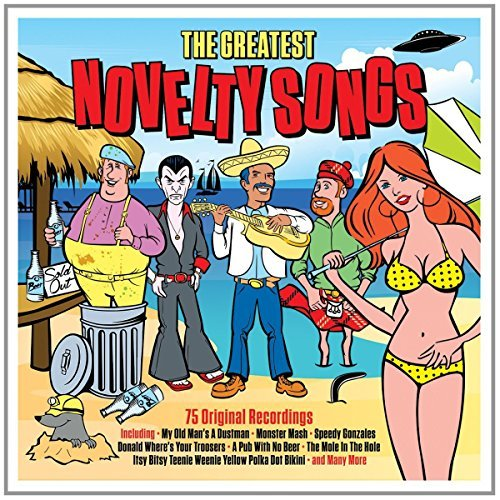 Greatest Novelty Songs Greatest Novelty Songs Import Gbr 3 CD