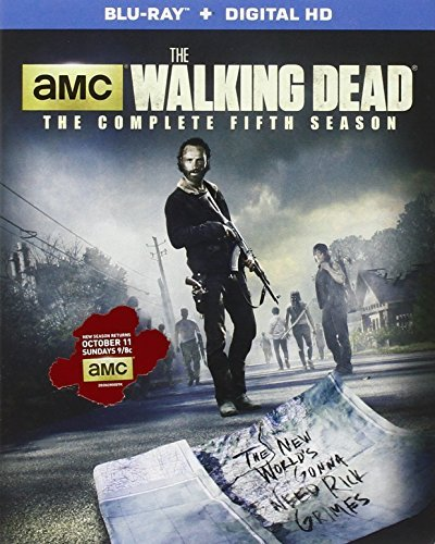 Walking Dead Season 5 Blu Ray