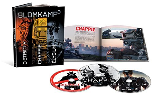 Chappie District 9 Elysium Triple Feature Blu Ray R