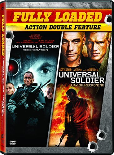 Universal Soldier Day Of Reckoning Universal Soldier Regeneration Double Feature DVD R