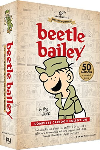 Beetle Bailey Complete Collection DVD 65th Anniversary Collector's Edition