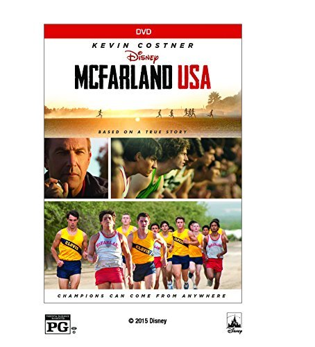 Mcfarland Usa Costner Bello Rodriguez DVD