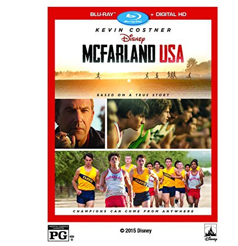 Mcfarland Usa Costner Bello Rodriguez Blu Ray Dc